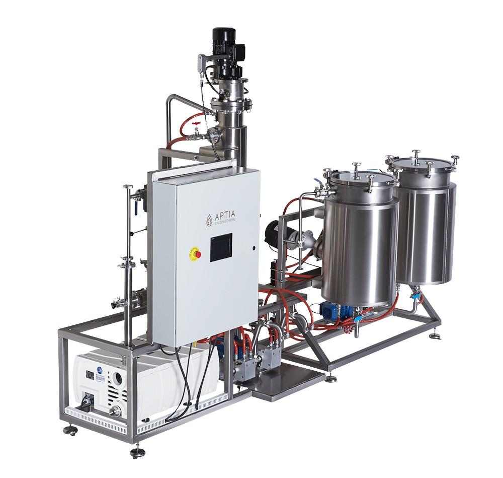 Wiped Film Distillation 3/4 View