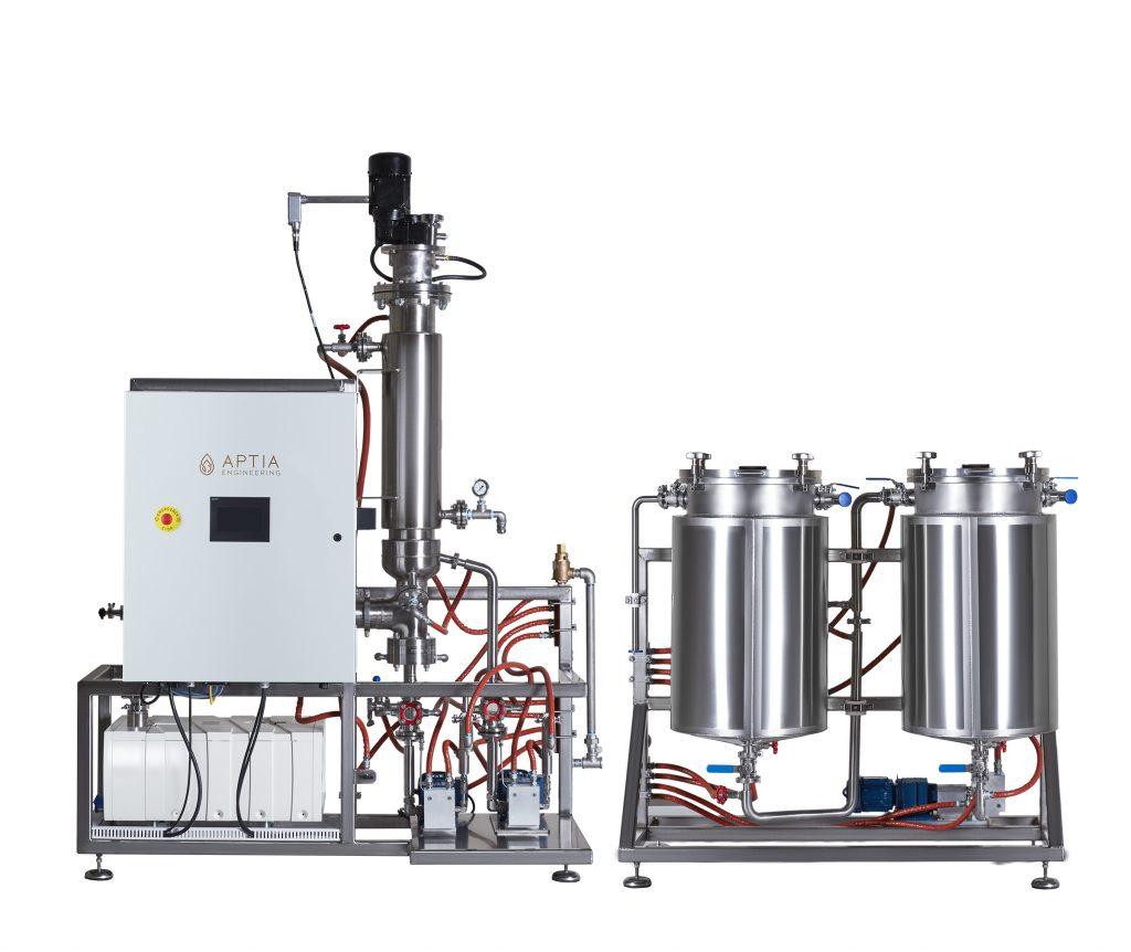 Aptia Wiped Film Distillation