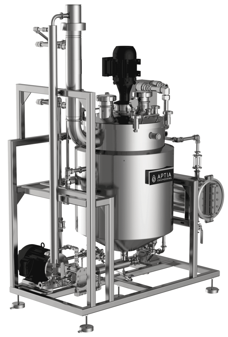 Engineering R60-FFE Compact Solvent Recovery Unit