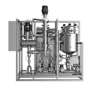 WFD-V12 Wiped Film Distillation System for Cannabis Processing