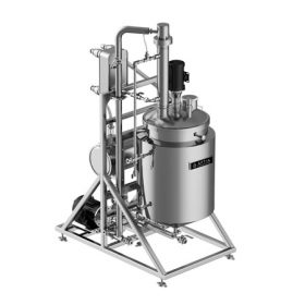 Aptia Engineering Compact Solvent Recovery and Decarb System for Hemp
