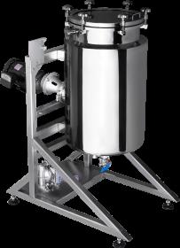 Hemp Crystallization Winterization Reactor 30 Gallon