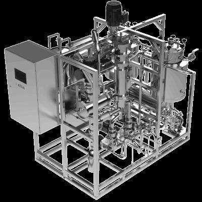 Aptia Engineering WFD-V12 Wiped Film Distillation System for Hemp